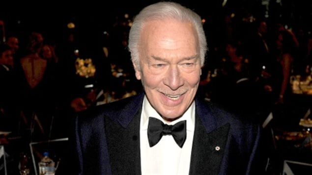 "Christopher Plummer at the 2012 Academy Awards, where he won best supporting actor for his role in ""Beginners."" He was the oldest actor to ever win an Oscar. He will be honoured by his Canadian peers in March."