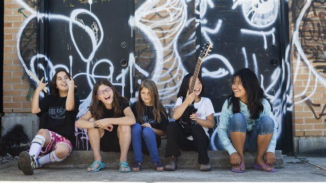 le Girls rock camp