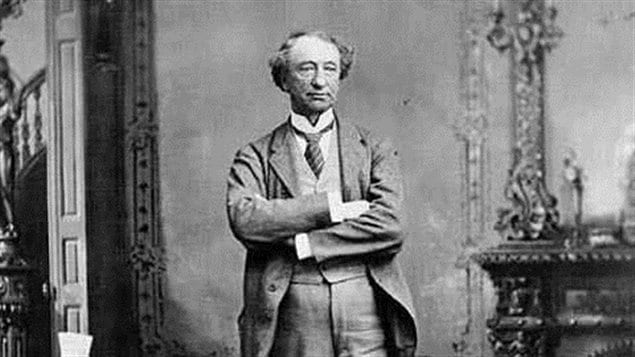 Sir John A Macdonald, known variously by political friends as *the Old Chieftan* for his leadership, and by political critics as *old tomorrow* for his stalling. He was Canada's first Prime Minister from 1867-1873 and again from 1878-1891