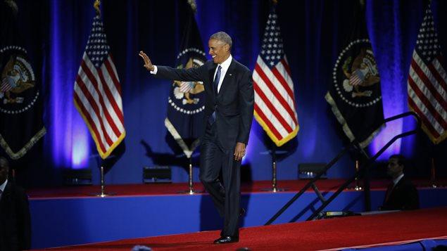 Obama comienza a transitar los últimos días de su gestión.
