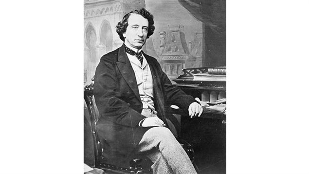 Sir John A Macdonald in his prime 1867. He was known as a binge drinker, but in response to a heckler that he was drunk, replied, *Yes, but the people would prefer John A. drunk to George Brown sober. (Brown was a vocal opponent of Macdonald and an opposition Member of Parliament)