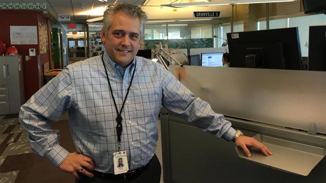 Richard Traer, directeur du Service 311 à Vancouver.