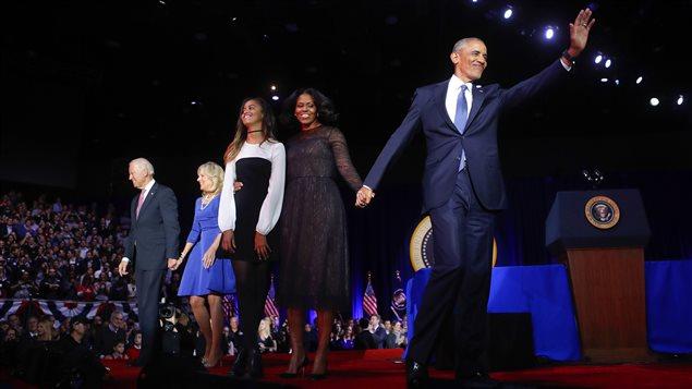 Obama está a horas de poner fin a sus 8 años de mandato.
