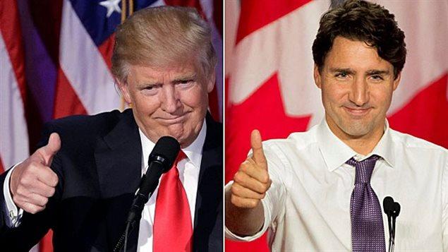 Justin Trudeau veut un partenariat sur la sécurité avec le président Trump