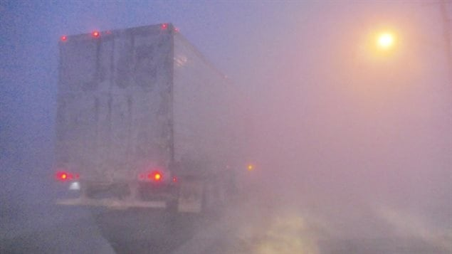 Near white-out conditions in some parts of Manitoba have closed some highways. It could be deadly to slide off the road and get stuck in snow with wind chill making it the equivalent of -40 to -45 C