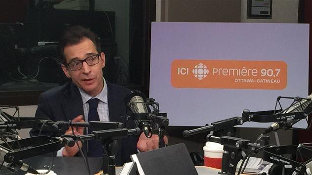 Xavier Gélinas, conservateur, histoire politique au Musée canadien de l'histoire