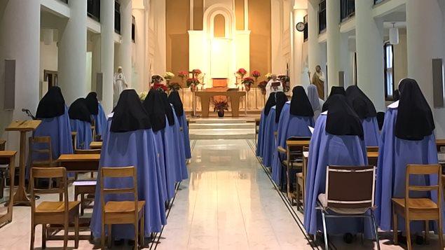 Des sœurs de la congrégation des Servantes de Jésus-Marie
