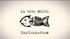 Logo du théâtre de marionnettes « La Tête Salée » de la marionnettiste Karine Leblanc