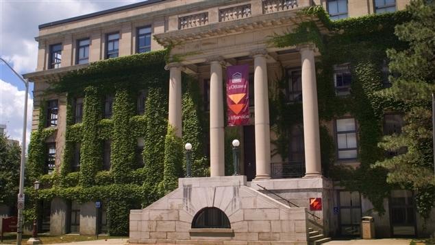 Pavillion Tabaret à l'Université d'Ottawa