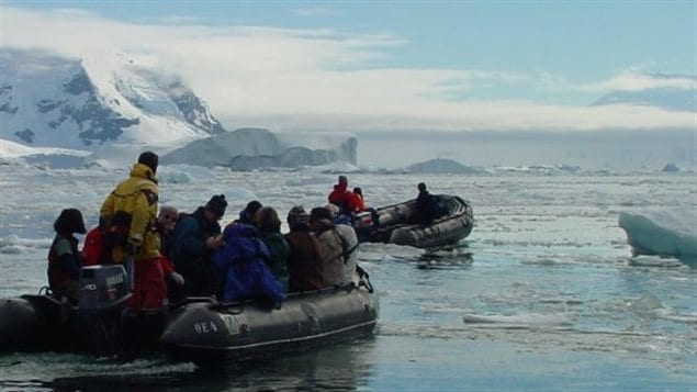 Une expédition organisée par Homeward Bound