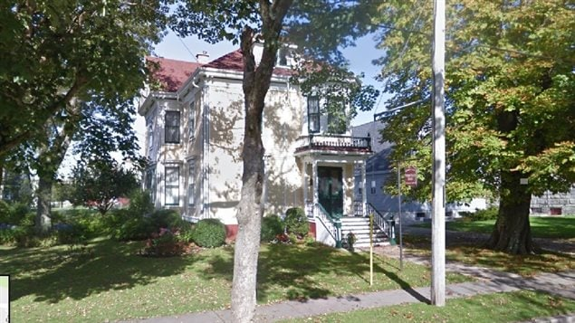 The Pelton-Fuller house on 20 Collins Str, Yarmouth N.S. The house, which has displays of Fuller products ,photos, and adverts was donated to the Yarmouth Museum next door and is open for tours during the summer