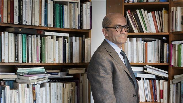 Le professeur de philosophie arabe et de philosophie de la logique, Ali Benmakhlouf.