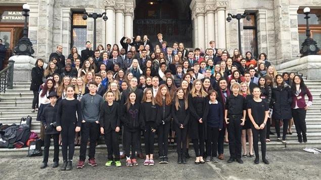 Le parlement jeunesse francophone de la Colombie-Britannique