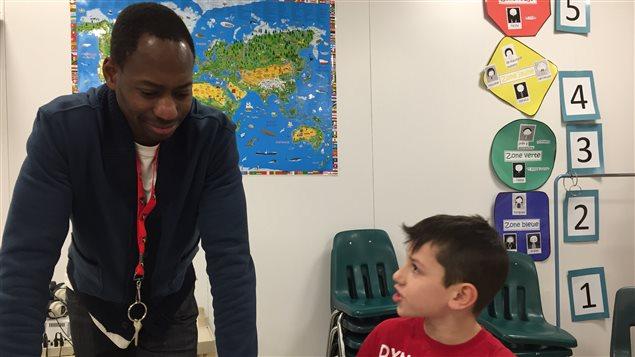 La classe de Mamadou Diakité à l'École Précieux-Sang
