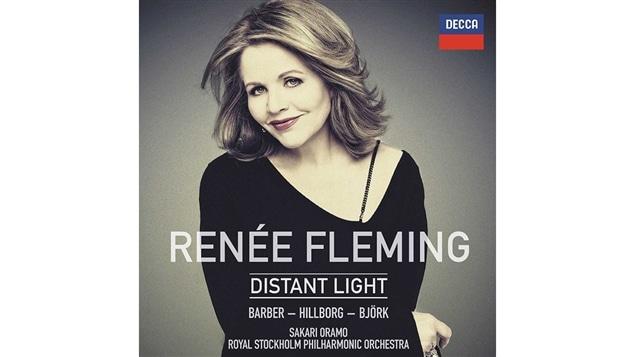 Pochette de l'album <i>Distant Light</i> de Renée Fleming, paru sous étiquette Decca