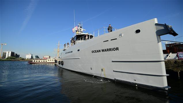 L'Ocean Warrior du groupe Sea Shepherd