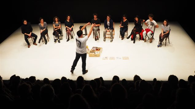 La pièce de théâtre By Heart / Par coeur, de  l'auteur et metteur en scène Tiago Rodrigues.