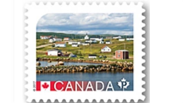 One of the newest in the series of Canada Post stamps featuring UNESCO World Heritage sites in Canada. Issued earlier for postage to the US, the stamp now for domestic postage shows Red Bay Newfoundland, site of the most complete examples in North America of a 16th century Basque whaling station