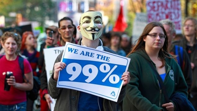 Since protesters marched in the Occupy Vancouver demonstration on Oct. 15, 2011, wealth inequality has continued to grow.