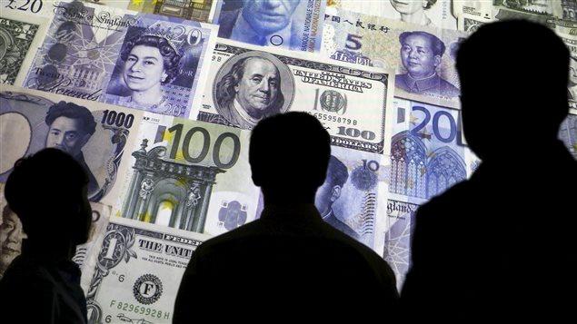 Divers monnaies et devises utilisés dans le monde