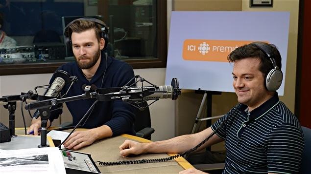 Jean-Philippe Brousseau et Alexandre Gingras en entrevue à Radio-Canada