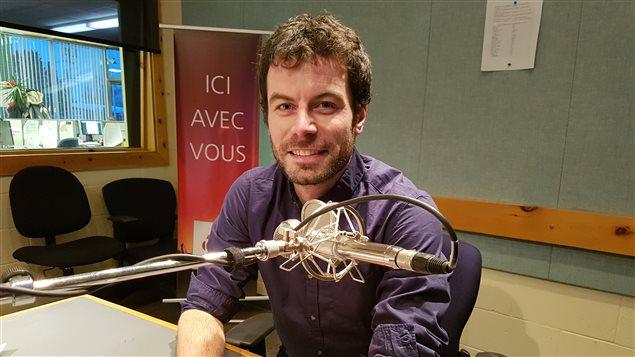 Vincent Carbonnelle,  Chargé de projet - Gestion des matières résiduelles à la MRC de Sept-Rivières