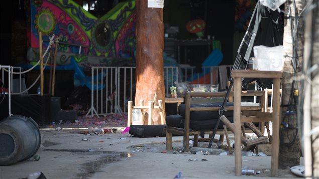 El ataque puso fin a la vida tranquila y relajada en Playa del Carmen.