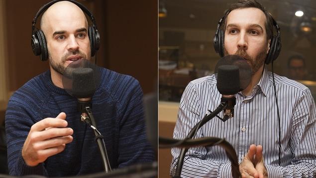 Matthieu Proulx et Dave Ellemberg