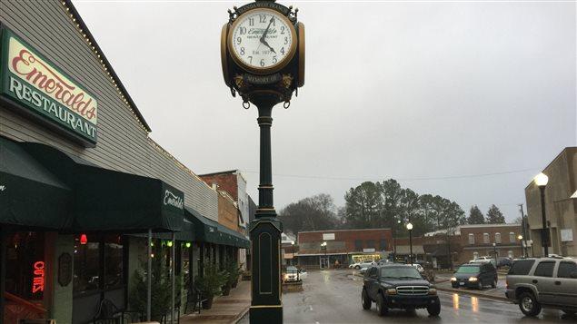 La ville de Waynesboro, au Tennessee