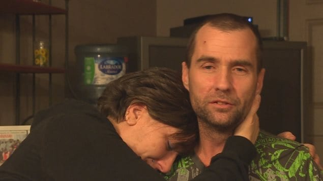 """I call him my hero,"" says Audrey Berndt after husband Kevin Wiseman saved her life."