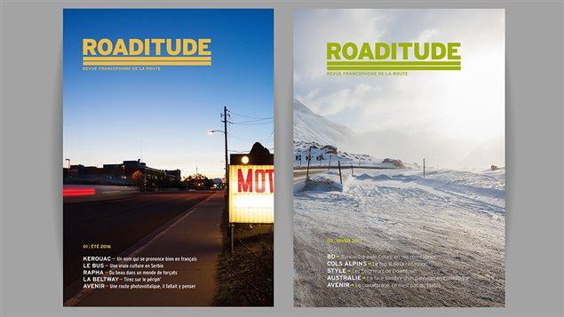 Deux couvertures de Roaditude