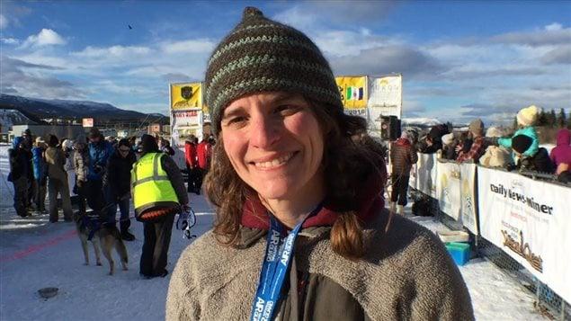 Nathalie Haltrich, directrice de la course Yukon Quest.