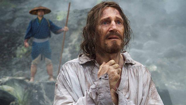 Liam Neeson dans le film Silence
