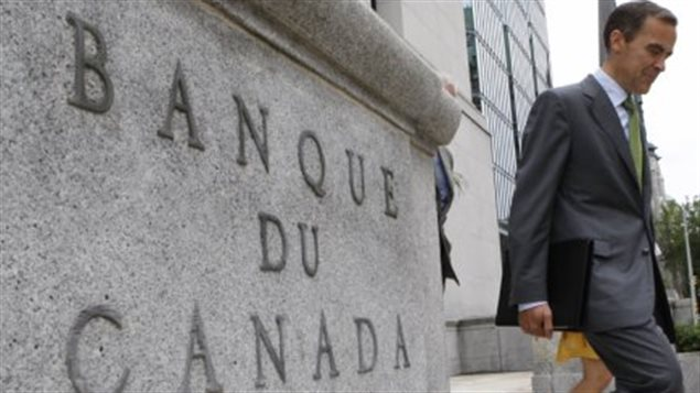 la Banque du Canada à Ottawa