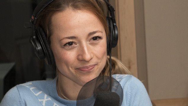 La comédienne Karine Vanasse