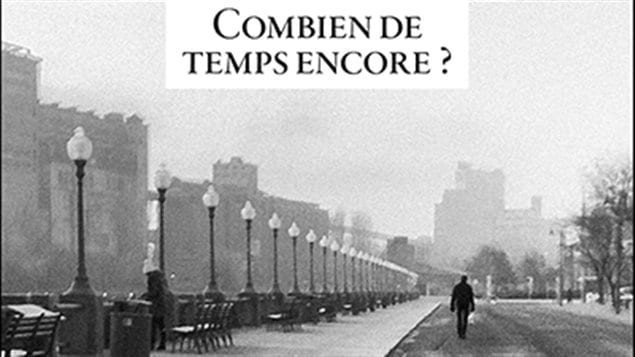 Détail de la couverture du livre Combien de temps encore de Gilles Archambault