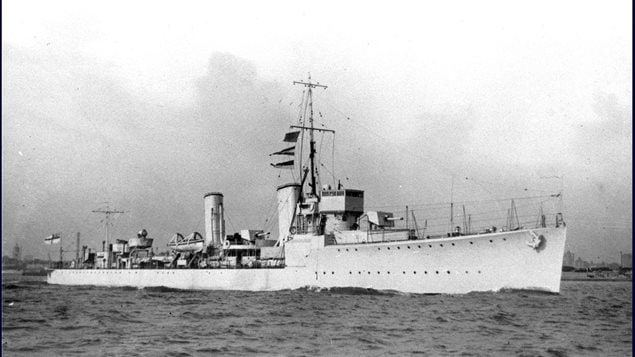 HMCS Vancouver- S-Class destroyer (formerly HMS Toreador- built 1919, transferred to RCN in March 1928)
