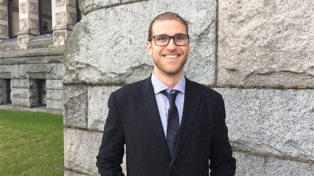 Xavier Deschênes-Phillion, étudiant au doctorat en sciences politiques à UBC