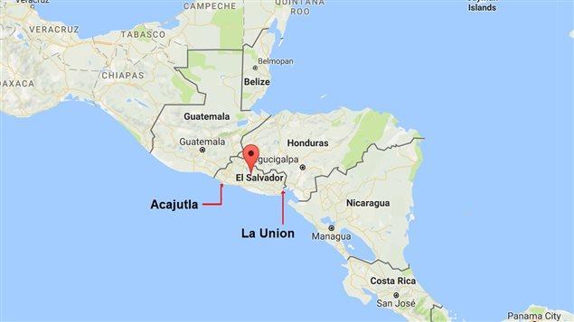 A near case of *gunboat diplomacy* Canada sends its ships to El Salvador 1932