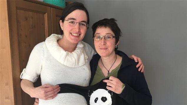 Laurence St-Denis et Frédérike Lemay attendent leur premier enfant