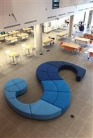 An interior space of Sheridan College's newest building on the Hazel McCallion campus in Mississauga