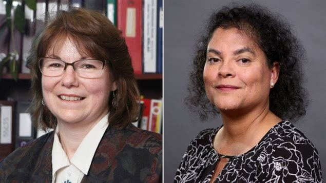Judge Catherine Benton, left, and Judge Ronda van der Hoek will bring to 15 the number of female judges serving Nova Scotia's provincial and family courts.