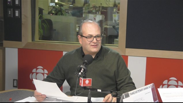 Marc-Éric, notre journaliste des sports à Phare Ouest était en studio ce matin.