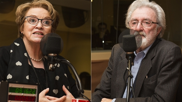 Rose-Marie Charest et Hubert Van Gijseghem
