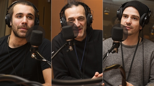 Jean-Simon Leduc, Martin Dubreuil et Karl Lemieux