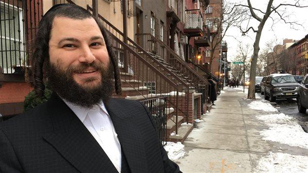 Samuel Stern, un hassidim né à Brooklyn et père de six enfants.