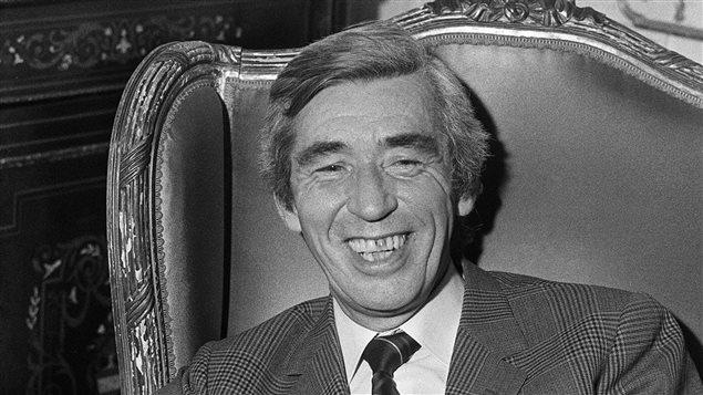 George Remi, dit Hergé, en 1972