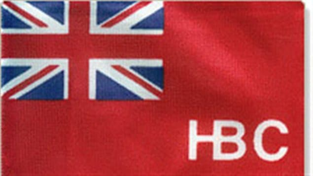 Both the Hudson's Bay Co, and the North West Co used the Red Ensign on their respective fur-trading forts.