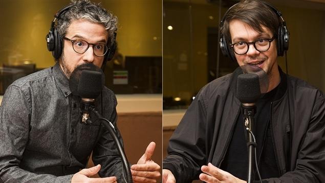 Matthieu Dugal et Guillaume Corbeil