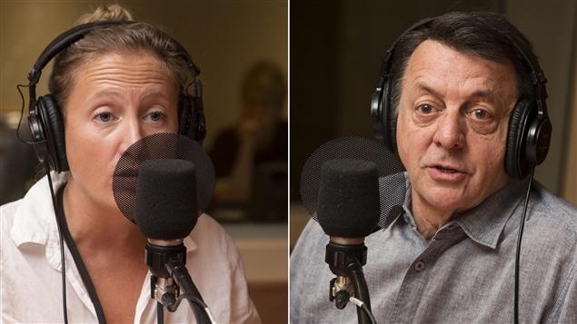 Rafaële Germain et Jean-Luc Mongrain (archives)